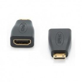 Mini HDMI to HDMI Adapter GEMBIRD A-HDMI-FC Black