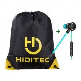 Casques avec Microphone + Sac à dos serré par des ficelles Hiditec PAC010008