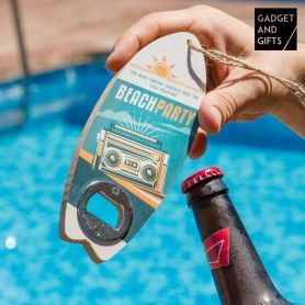 Gadget and Gifts Surf Bottle Opener