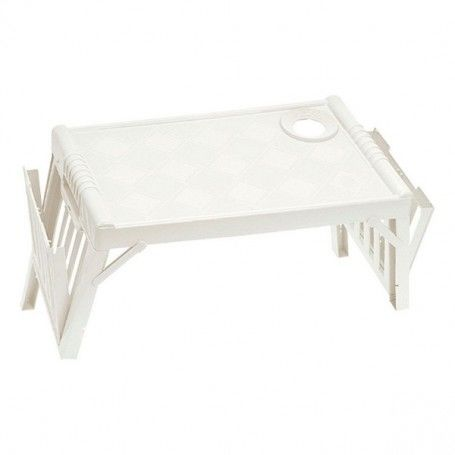 Folding Tray for Bed Tontarelli Life Plastic (52 X 32 x 25 cm)