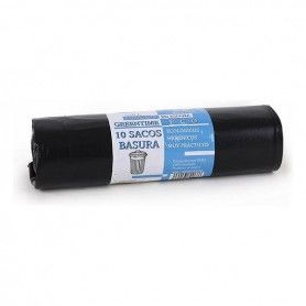 Rubbish Bags Eco Green Time 100 L Black (10 Uds)
