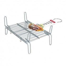 Grill Bbq Algon Double Steel