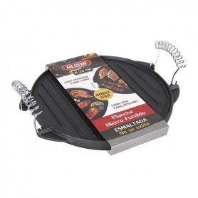 Grill hotplate 2 In 1 Algon Cast iron Black