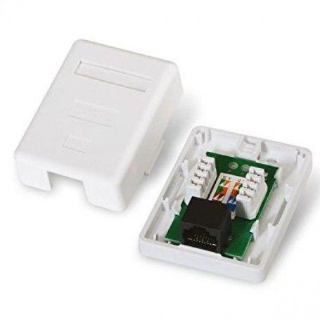 Network Connection Box NANOCABLE 10.21.1501 UTP RJ45 6 White