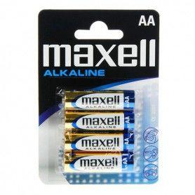 Pilas Alcalinas Maxell 1.5V AA PK4 AA 1,5 V