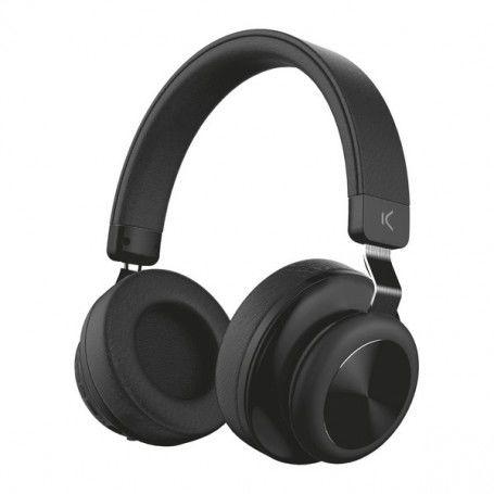 Casques Bluetooth avec Microphone 200 mAh Noir