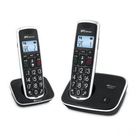 SPC 7609N Phone DECT DUO Big keys AG20 ID LCD ECO