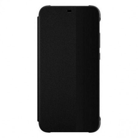 Protection pour téléphone portable Huawei P30 Huawei Flip Wallet Noir