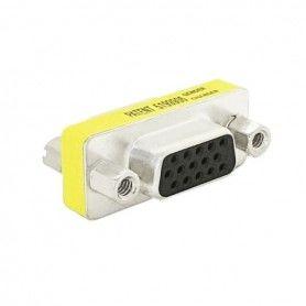 Adaptador VGA Hembra D-Sub HDB15 NANOCABLE 10.16.0001