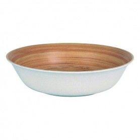 Deep Plate Privilege Bamboo (20 Cm)