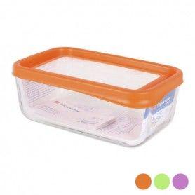 Boîte à lunch Bormioli Rectangulaire (20,3 x 12,3 x 8 cm)