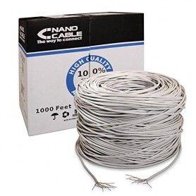 UTP Category 5e Rigid Network Cable NANOCABLE ANEAHE0087 305 m