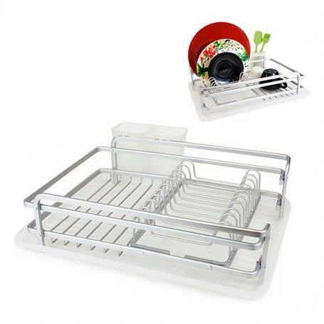Cutlery Drainer Confortime Alluma Aluminium