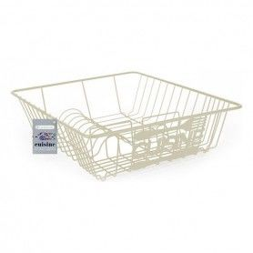 Draining Rack for Kitchen Sink Confortime Cuisine Metal White (40 X 34 x 10 cm)