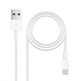 Lightning Cable NANOCABLE 10.10.0401 White