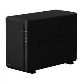 Enregistreur Vidéo de Réseau Synology NVR1218 Dual Core 1 GB RAM Noir