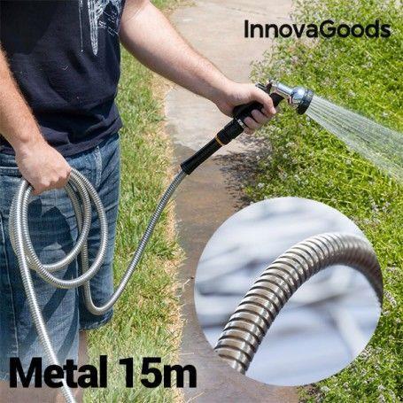 InnovaGoods Unbreakable Metal Hose (15 m)