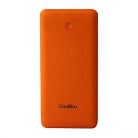 Power Bank CoolBox COO-PB10K-OR 10000 mAh Orange