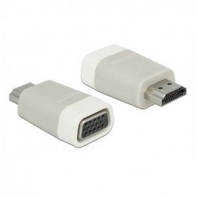 HDMI to VGA Adapter DELOCK 65472 White