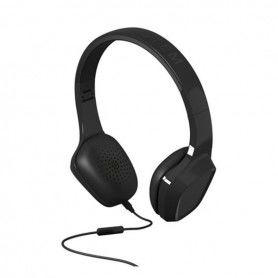 Headphones with Microphone Energy Sistem 428144 Black