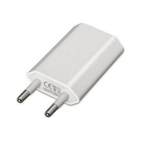 Wall Charger NANOCABLE 10.10.2001 iPod iPhone White