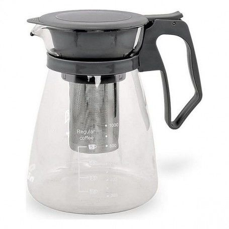 Jug for Infusions Quttin Crystal Black