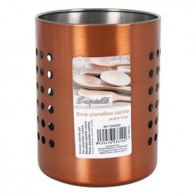 Pot for Kitchen Utensils Exquisite Stainless steel (10 X 13 cm)