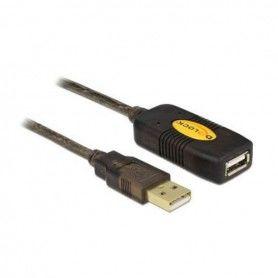 Cable Alargador DELOCK 82308 USB 2.0 5 m