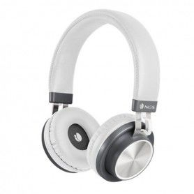 Casques Bluetooth avec Microphone NGS ARTICAPATROLWHITE Blanc