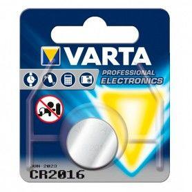 Pila de Botón de Litio Varta CR-2016 3 V Plata