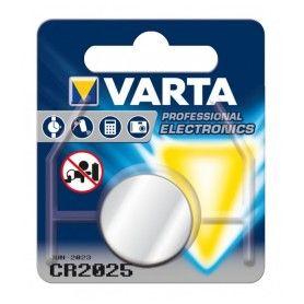 Pila de Botón de Litio Varta CR-2025 3 V Plata