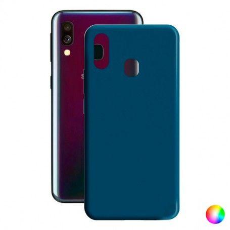 Mobile cover Samsung Galaxy A40 Contact Silk TPU