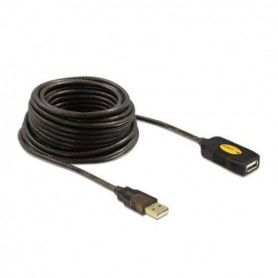 Extension Lead DELOCK 82446 USB 2.0 10 m