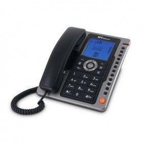Landline Telephone SPC 3604N LCD Black