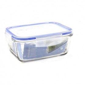 Hermetic Lunch Box Borgonovo Transparent Rectangular