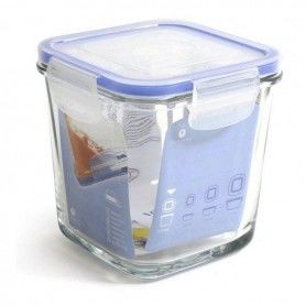 Hermetic Lunch Box Borgonovo Transparent