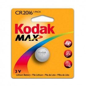 Lithium Button Cell Battery Kodak KCR2016 3 V Silver