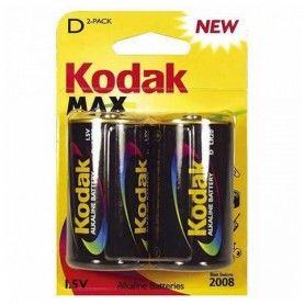 Pila Alcalina Kodak LR20 1,5 V (2 pcs)