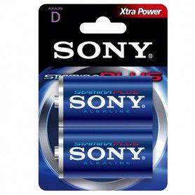 Pile Alcaline Sony AM1-B2D AM1-B2D 1,5 V (2 pcs) Bleu