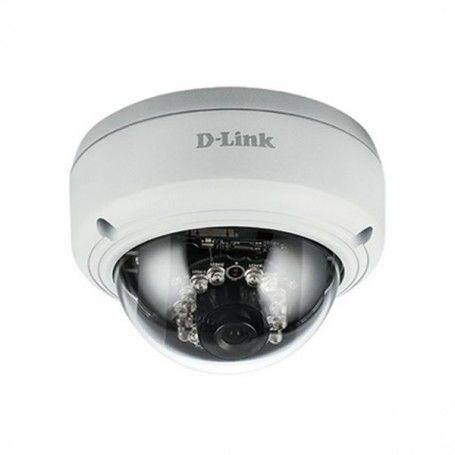 Caméra IP D-Link DCS-4603 Domo FHD PoE (H/V/D): 96° / 54° / 108° Zoom 10x Blanc