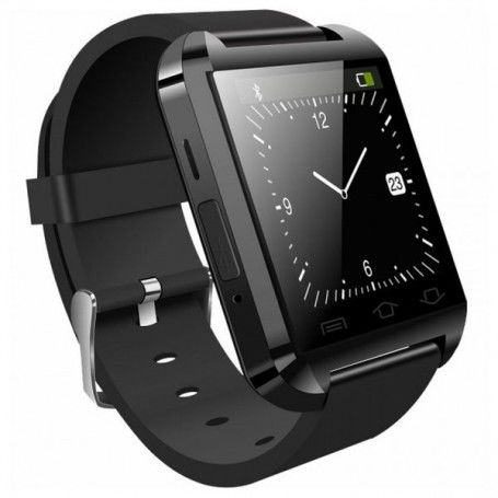 "Smartwatch BRIGMTON BWATCH-BT2 1.44"" Bluetooth 230 mAh Black"