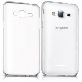 Étui pour téléphone portable Samsung 222672 Samsung J3 Gel Newark Transparent