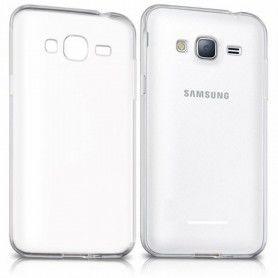 Funda para Teléfono Móvil Samsung 222672 Samsung J3 Gel Newark Transparente