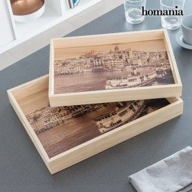 Homania Set of Trays (2 Pieces)