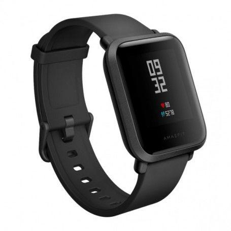 """Montre intelligente Amazfit A1608B 1,28"""" Dual Core WIFI Bluetooth Noir"""
