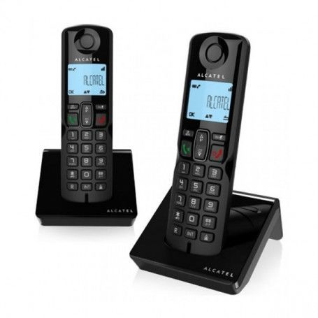 Wireless Phone Alcatel S250DUO DECT Black (2 Pcs)