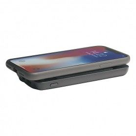 Wireless Power Bank Denver Electronics PBQ-4000 4000 mAh Black