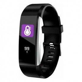 "Activity Bangle Denver Electronics BFH-16 0,96"" TFT Bluetooth 4.0 80 mAh"