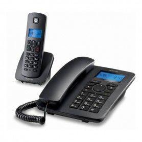 Landline Telephone Motorola C4201 Combo DECT (2 pcs) Black