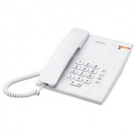 Teléfono Fijo Alcatel T180 Versatis Blanco